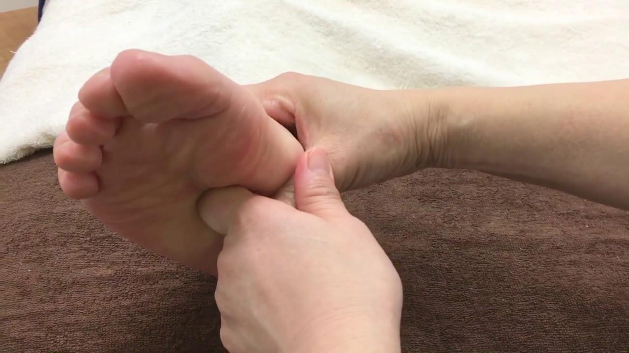 実践型台湾式足つぼ講座 泌尿器系の反射区の動画